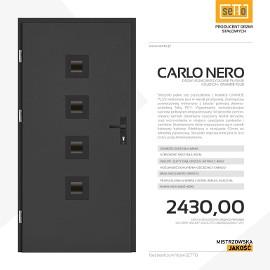 Drzwi wejściowe stalowe SETTO model CARLO PLUS