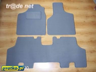 Chrysler Town&Country IV 2001-2007 siedzenia na stałe najwyższej jakości dywaniki samochodowe z grubego weluru z gumą od spodu, dedykowane Chrysler-1