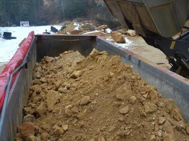 Kamień łamany na parkingi pod kostkę niesortowany Radomsko gruz-1
