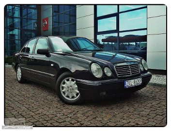 Mercedes-Benz Klasa E W210 Avangarde Lift Skóra Navi Xseno 100% Serwis Gwarancji Bezwypadkowy.