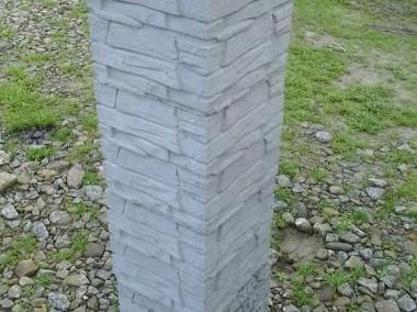 Kamień łupany na słupki ogrodzeniowe 25x25x25-1