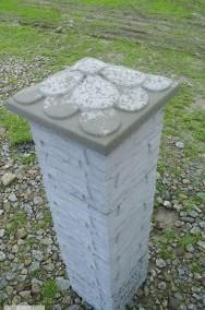 Kamień łupany na słupki ogrodzeniowe 25x25x25-2