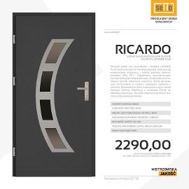 Drzwi wejściowe stalowe SETTO model RICARDO PLUS