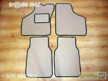 MINI AUSTIN najwyższej jakości dywaniki samochodowe z grubego weluru z gumą od spodu, dedykowane