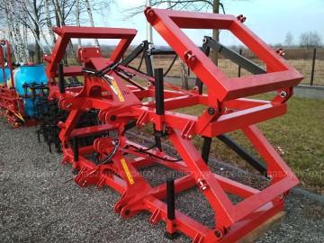 Brony 5 polowe hydrauliczne Brona polowa Dziekan 100x100x5 mm TRANSPORT