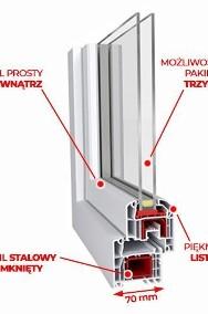 Okna PCV Drzwi Balkonowe PCV, 2200 x 2150 mm SUPER PROMOCJA! TRANSPORT-2