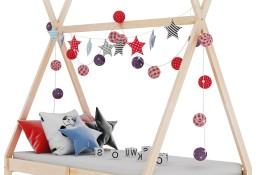 vidaXL Rama łóżka dziecięcego, lite drewno sosnowe, 70 x 140 cm 283355