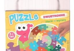 Puzzle dwustronne Literki i wyrazy Piotr Kozera