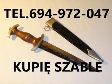 KUPIE WOJSKOWE STARE SZABLE,BAGNETY,MEDALE TELEFON 694972047