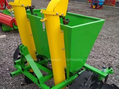 Sadzarka do ziemniaków Metalowe koszyki 2-rzędowa Transport -1