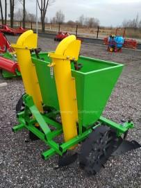 Sadzarka do ziemniaków Metalowe koszyki 2-rzędowa Transport