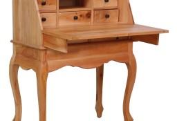 vidaXL Sekretarzyk, 78 x 42 x 103 cm, lite drewno mahoniowe283842