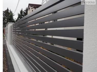 Przęsło ogrodzeniowe 120X200cm P12b ceownik 70x10 ocynk+kolor-1