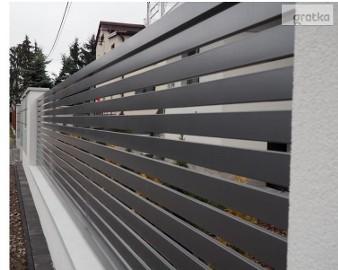 Przęsło ogrodzeniowe 120X200cm P12b ceownik 70x10 ocynk+kolor