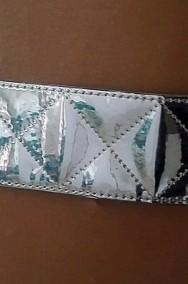 Damski pasek w srebrnym kolorze-2