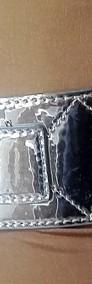 Damski pasek w srebrnym kolorze-4