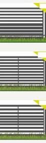 Przęsło ogrodzeniowe, płot, wzór P12 120x200cm ocynk+kolor-4