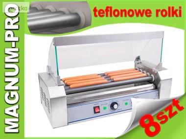 Podgrzewacz rolkowy do parówek, hot dogów, 5 rolek, teflon-1