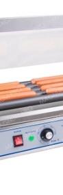 Podgrzewacz rolkowy do parówek, hot dogów, 5 rolek, teflon-3