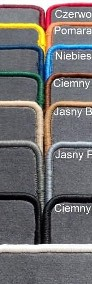 SUZUKI IGNIS III od 01.2017 r. siedzenia nieprzesuwne najwyższej jakości bagażnikowa mata samochodowa z grubego weluru z gumą od spodu, dedykowana Suzuki Ignis-4