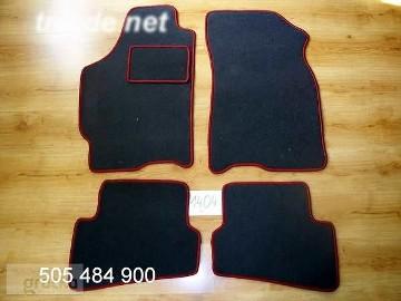 Mazda 626 GF 1997-2001 najwyższej jakości dywaniki samochodowe z grubego weluru z gumą od spodu, dedykowane Mazda 6