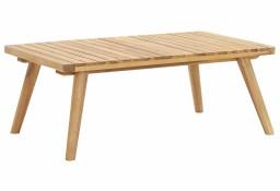vidaXL Ogrodowy stolik kawowy, 90x55x35 cm, lite drewno akacjowe46675