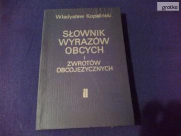 Słownik Wyrazów Obcych i Zwrotów Obcojęzycznych-Kopaliński