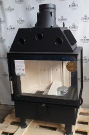 Kominek narożny, wkład kominkowy DEFRO HOME INTRA SM BP 10 kW