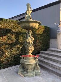 Fontanna z brązu H 320cm