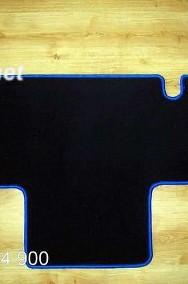 Citroen Jumper 2002-2006 2 rzędy siedzeń najwyższej jakości dywaniki samochodowe z grubego weluru z gumą od spodu, dedykowane Citroen Jumper-2
