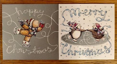 Kartki świąteczne z kopertami Marks & Spencer - 14 sztuk