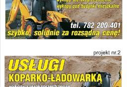 Roboty Ziemne Koparko Ładowarka Żyglin Miasteczko Śląskie ożarowice