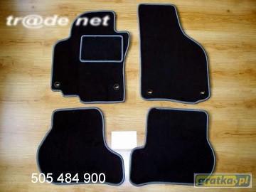 VW Golf V Plus od 04.2005r. H/B najwyższej jakości dywaniki samochodowe z grubego weluru z gumą od spodu, dedykowane Volkswagen Golf