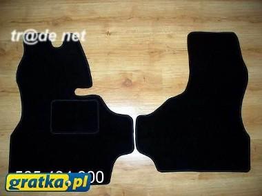 Iveco Daily II 1990-2000 najwyższej jakości dywaniki samochodowe z grubego weluru z gumą od spodu, dedykowane Iveco Domino-1
