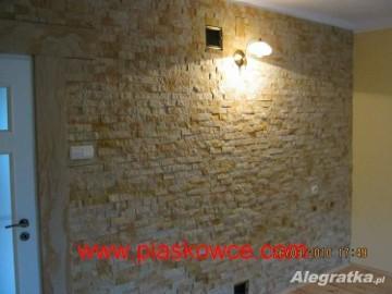 Kamień elewacyjny dekoracyjny wewnętrzny naturalny płytki piaskowiec