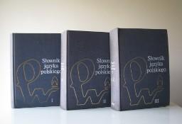 Słownik Języka Polskiego PWN, 3 tomy, red. M. Szymczak IV wydanie