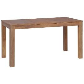 vidaXL Stół z drewna tekowego, naturalne wykończenie, 140x70x76 cm246952