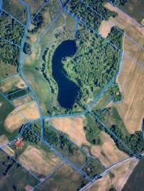WŁASNE JEZIORO i LAS na MAZURACH  - 15,54 ha  -prąd , woda, wydane warunki zabudowy