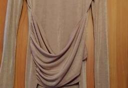 (38) ASOS/ Ekskluzywna, ołówkowa sukienka biznesowa z półgolfem z Londynu/ NOWA z metką