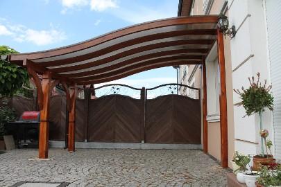 KROKIEW GIĘTA 4,5m Wiata Pergola Taras Altana Dach Garaż Zadaszenie tarasu Poliwęglan