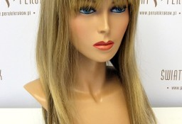 Peruka długa z włosów syntetycznych w jasnym kolorze Końskie