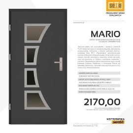 Drzwi wejściowe stalowe SETTO model MARIO PLUS