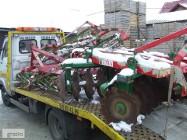 transport lawetą agregatów maszyn rolniczych bobcatów quadów ładowarek