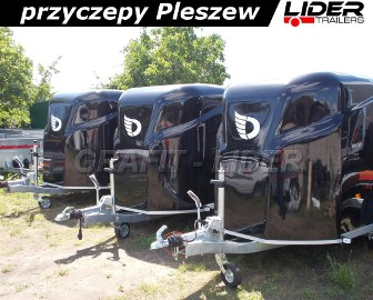 DB-001 bagażowa, do motocykli 300x150x170cm, hamowana Debon Cheval Liberte Furgon Cargo 1300.02 + drzwi boczne, DMC 1300kg Cheval ...