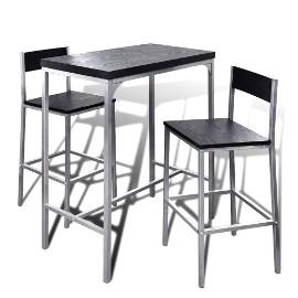 Wysoki stolik kuchenny + krzesła241495