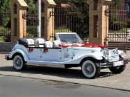 RETRO zabytkowe samochody do wynajęcia na ślub AUTA na wesele Luksusowe limuzyny ślubne Kabriolet do ślubu Nestor Baron Excalibur