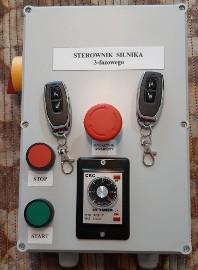 Czasowy wyłącznik silnika 3-fazowego np. zgarniacz obornika