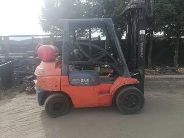 Wózek widłowy gazowy Toyota 7FGF30/Triplex/2000rok Cena netto 34,500 pln