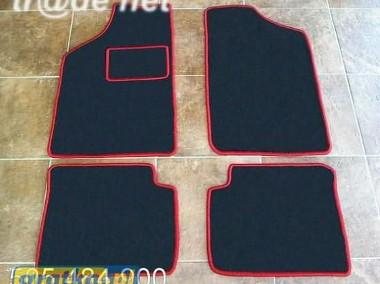 Citroen ZX 1991r.-1998r. najwyższej jakości dywaniki samochodowe z grubego weluru z gumą od spodu, dedykowane Citroen ZX-1