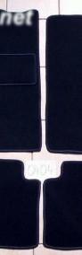 Citroen ZX 1991r.-1998r. najwyższej jakości dywaniki samochodowe z grubego weluru z gumą od spodu, dedykowane Citroen ZX-4